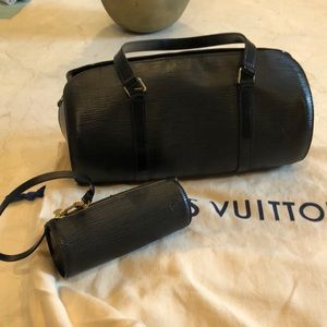 Louis Vuitton Epi Handbag and Pochette